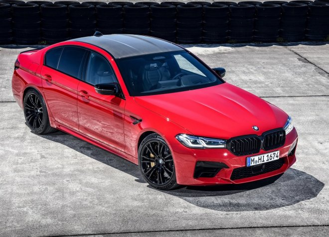 BMW M5 SERIES SEDAN COMPETITION 2021 05